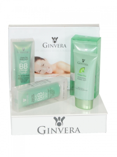 SN15 - Ginvera Beautyproducten display